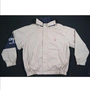 Chaps Ralph Lauren Zip Jacket stadium snow 90 1992